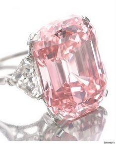 Pink ring.