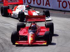 Mario Andretti and Emerson Fittipaldi