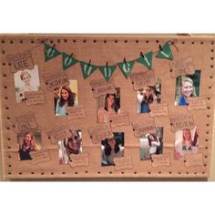 Showcase council officers or appointed officers on a bulletin board.