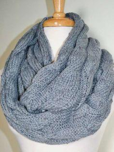 #grey scarf