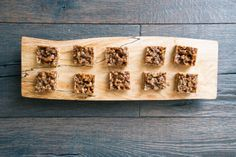 Pecan-Rosemary Shortbread Squares (Photo by Signe Birck)