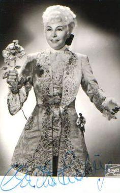 Christa Ludwig as Octavian in Rosenkavalier
