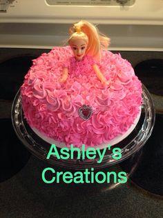 Princess cake!!  Facebook: Ashley's Creations