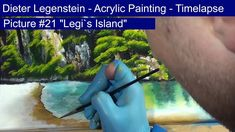 """Dieter Legenstein - Acrylmalerei 2018 // Picture """"Legi`s Island"""" - Timelapse Island, Painting & Drawing, Digital, Drawings, Outdoor Decor, Youtube, Pictures, Legends, Stones"""