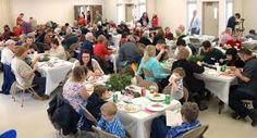 christmas community dinner