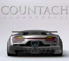 Redesigned Lamborghini Countach EV as Tribute to Marcello Gandini – En Güncel Araba Resimleri Bugatti, Lamborghini Aventador, Ferrari, Sexy Cars, Hot Cars, Best Luxury Cars, Unique Cars, Amazing Cars, Exotic Cars