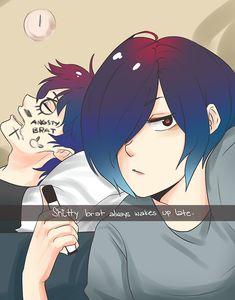 Les tags les plus populaires pour cette image incluent : anime, funny, touka, ayato et tokyo ghoul
