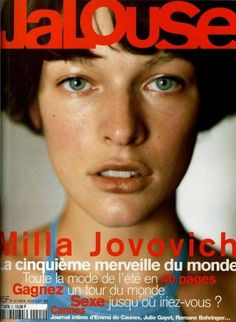 Milla Jovovich, Jalouse Cover June of 1997