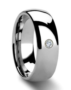 Lustrix | Tungsten Mens Wedding Band | Mens Fashion