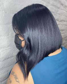 Are you a fan of bob haircuts? A lot of women love them since they are so low-maintenance while being so gorgeous, effortless, and easy to style. If y... Asymmetrical Bob Haircuts, Bob Cuts, Bob Haircuts For Women, Hair Buns, Long Hair, Short Hair Styles, Fan, Bob Styles, Wedge Bob Haircuts