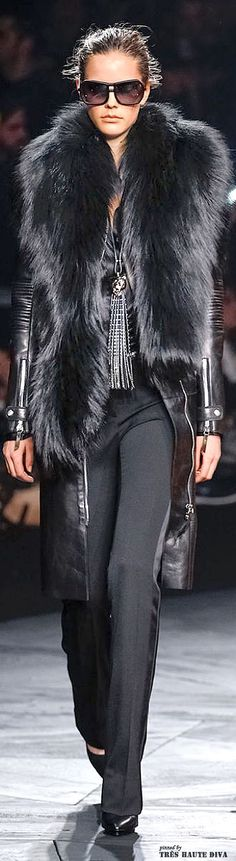 Milan Fashion Week Roberto #Cavalli Fall/Winter 2014 RTW #DecoArt24.pl