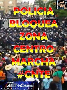 Policía para Marcha CNTE CDMX