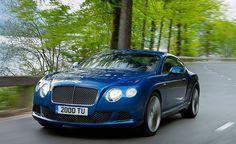 Bentley Continental GT Speed - LOVE that BLUE