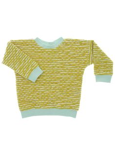 Pullover PAULA CRASH BABIES (0-2,5 YEARS) How wonderful to know that real good classics still exist. Our pullover PAULA is one of them. As darling of the international press, this cute unisex sweaty always comes in a new look. Our summery version of PAULA is from 100% organic cotton in macarons CRASH KNIT in colorful stripes.  macarons 100% ORGANIC MADE IN GERMANY