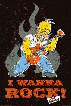 I Wanna Rock! - Homer Simpson