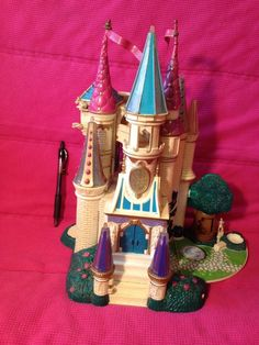 Vintage 1998 Beauty and The Beast Castle Trendmasters Polly Pocket Sized | eBay
