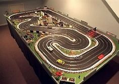 Mercedes-Benz Designs A Wicked Car Inspired By A Video Racing Game: The AMG Vision Gran Turismo. Ho Slot Cars, Slot Car Racing, Slot Car Tracks, Race Cars, Scalextric Track, Spoiled Kids, Food Trucks Near Me, Lego, Love Car