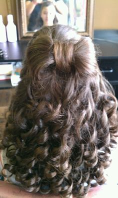 A bow out of hair. Annmaries Hair On Madison.  Follow us on Instagram...Annmaries_Hair_On_Madison.