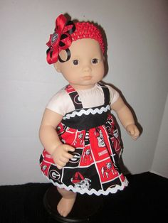 American Girl Bitty Baby Dress Created From by SweetpeasBowsNmore, $15.00