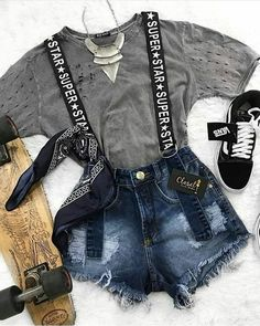 45 Best Fashion Outfit Ideas For Women Summer Outfits Winter Outfits Autumn O Cute Casual Outfits, Edgy Outfits, Swag Outfits, Mode Outfits, Party Outfits, Teen Fashion Outfits, Summer Outfits Women, Outfits For Teens, Girl Outfits
