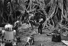 66 photos prises dans les coulisses de Star Wars V - L'empire contre-attaque
