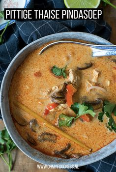 Spicy Recipes, Healthy Recipes, Y Food, Fodmap, Bon Appetit, Thai Red Curry, Veggies, Salad, Vegan