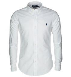 Polo Ralph Lauren Freizeithemd, Slim Fit WEISS