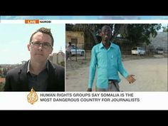 """Abdi-aziz Abdi-nur Ibrahim, a Somali journalist, has been detained without charge since January 10 for an interview he had conducted with a woman who says she was raped by security forces.    Tom Rhodes, of the committee to protect journalists, says """"there are absolutely no legal grounds"""" with which to have detained Abdi-Aziz.    Speaking to Al Jaze..."""