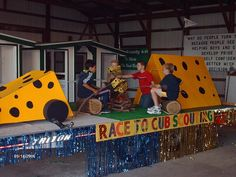 This = wow. Cub Scout Parade Float Idea.
