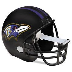 """Nfl Helmet Tape Dispenser, Baltimore Ravens, Plus 1 Roll Tape 3/4"""" X 350"""""""