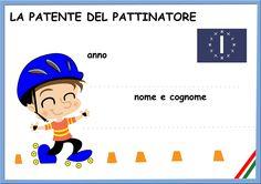 la patente del pattinatore ( maschi)