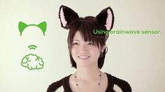 Cat Ears Sense Your Emotion