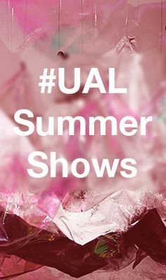 #UALSummerShows is a summer-long celebration of next generation creative talent, discover more by searching 'UAL Summer Shows' [artwork detail by Xiaochun Wang and Jingwen Liu]