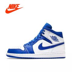 a8928a129 Nike Air Jordan 1 Mid AJ1 Original New Arrival Authentic Black Yellow Joe  Men's Basketball Shoes Sneakers Outdoor Non slip Shoes-in Basketball Shoes  from ...