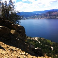 Okanagan Lake near Penticton BC on the Kettle Valley Railway by NyxStudioArt Diy Art, Kettle, North America, River, Paint, Nature, Photography, Outdoor, Pour Over Kettle