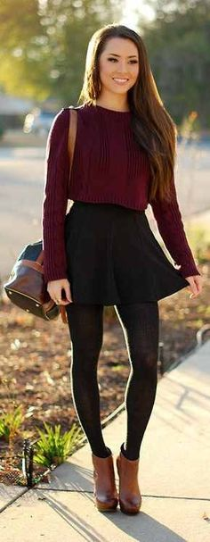 """Excellent >> Casual Fall Outfits For School ;) - Excellent >> Casual Fall Outfits For School 😉 > Casual Fall Outfits For School ;)""""> Excellent >> Casual Fall Outfits For School 😉 Mode Outfits, Casual Outfits, Fashion Outfits, Womens Fashion, Fashion Clothes, Fashion Ideas, Dress Fashion, Latest Fashion, School Outfits"""
