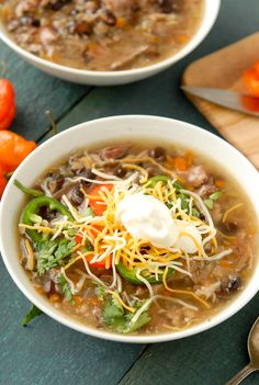 Slow Cooker Black Bean & Ham Soup with Cumin- BoulderLocavore.com