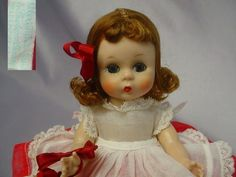 MADAME ALEXANDER-kins 1954 SLW  Wendy DOLL Tagged Outfit ADORABLE #MadameAlexander