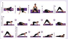 Hips - Yoga for Beginners Printables - Comeback Momma