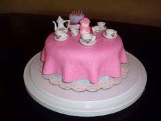 Tea room Birthday cake