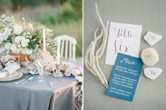 Romantic Emerald Coast Wedding Inspiration | Calligraphy table number and menu | Oyster Garland | As Seen on Bajan Wed | The Jacksons Photography