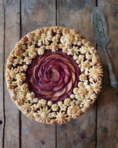 Nectarines & plumes pie by karinpfeiffboschek . . . https://www.bufetout.ru/catering/kofe-breik/ - Кейтеринг Тим - Google+