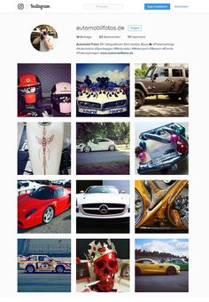 Instagram automobilfotos.de
