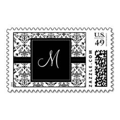Black & White Damask Monogram Wedding Stamp in each seller & make purchase online for cheap. Choose the best price and best promotion as you thing Secure Checkout you can trust Buy bestDeals          Black & White Damask Monogram Wedding Stamp Review on the This website by cl...