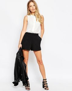 Tailored A-Line Shorts, Asos | 17 Pairs Of Shorts That You Can Actually Wear To Work