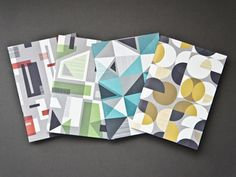 Herb Lester Notebooks #pattern #paper