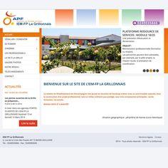 Site web de l'IEM La Grillonnais #wordpress http://www.iem-la-grillonnais.com