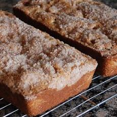 Streusel Rhubarb Bread. Made this today, it's so easy to make and tastes great! :D