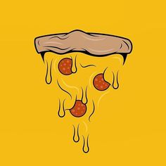 Digging this style of illustration without a main outline shape. What do you guy… Digging this style of illustration without a main outline shape. What do you guys think? Planeta Pizza, Pizza Vector, Pizza Art, Kids Pizza, Pizza Logo, Photo Images, Type Illustration, Story Instagram, Design Graphique
