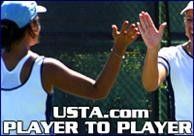 Read what advice your fellow players have about how to handle an opponent who hits with heavy topspin, and send your advice for the next column on how to get in proper position after serving.